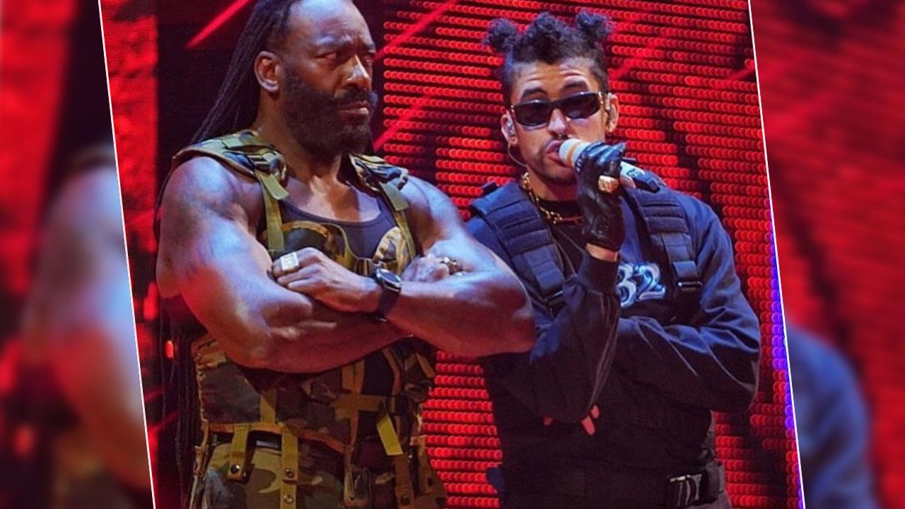 Bad Bunny vuelve a hacer historia al ser el primer artista latino en cantar en español en la WWE