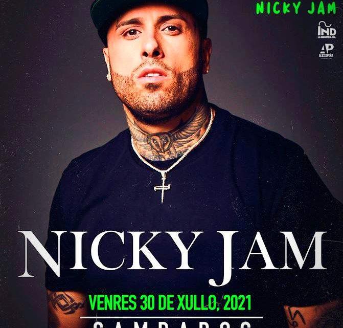 Nicky Jam actuará en Cambados el próximo mes de julio