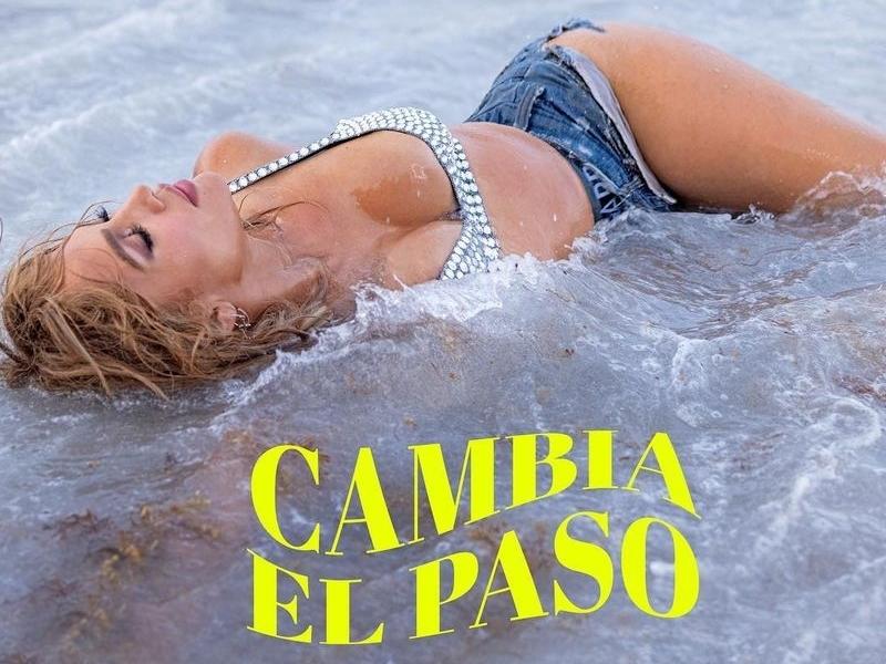 Jennifer Lopez anuncia colaboración con Rauw Alejandro