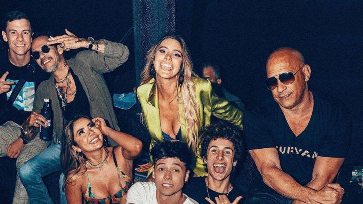 Lele Pons festejó su cumple a lo grande, con Guaynaa, Marc Anthony y Vin Diesel